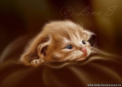 Часть 19 - Очень хорошенькие кошечки от Persis Clayton Weirs.  Часть 20 - Милые котята от художника Julius.